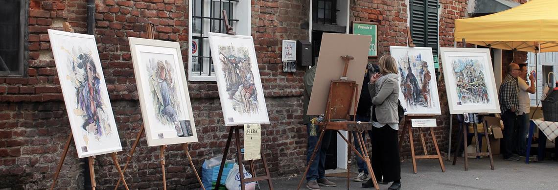 Esposizione di quadri di Giorgio Di Gifico